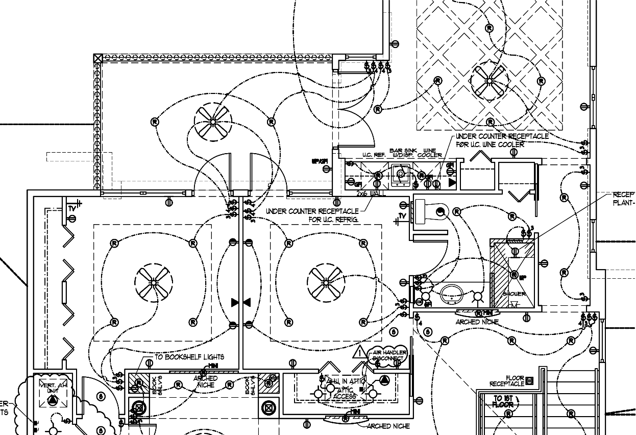 how to do a electrical plan wiring diagram Architectural Floor Plans electrical plan architecture wiring diagram librarieshaugen architectural design drafting servicespartial (sample) electrical plan